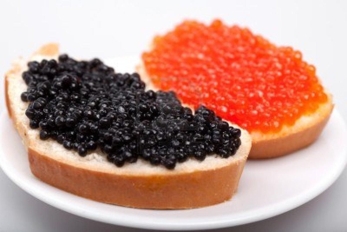 Echter Kaviar Rogen die Nährstoffen von Kaviar Vitamine