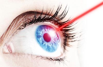 Gute Sicht durch Augenlaserbehandlung