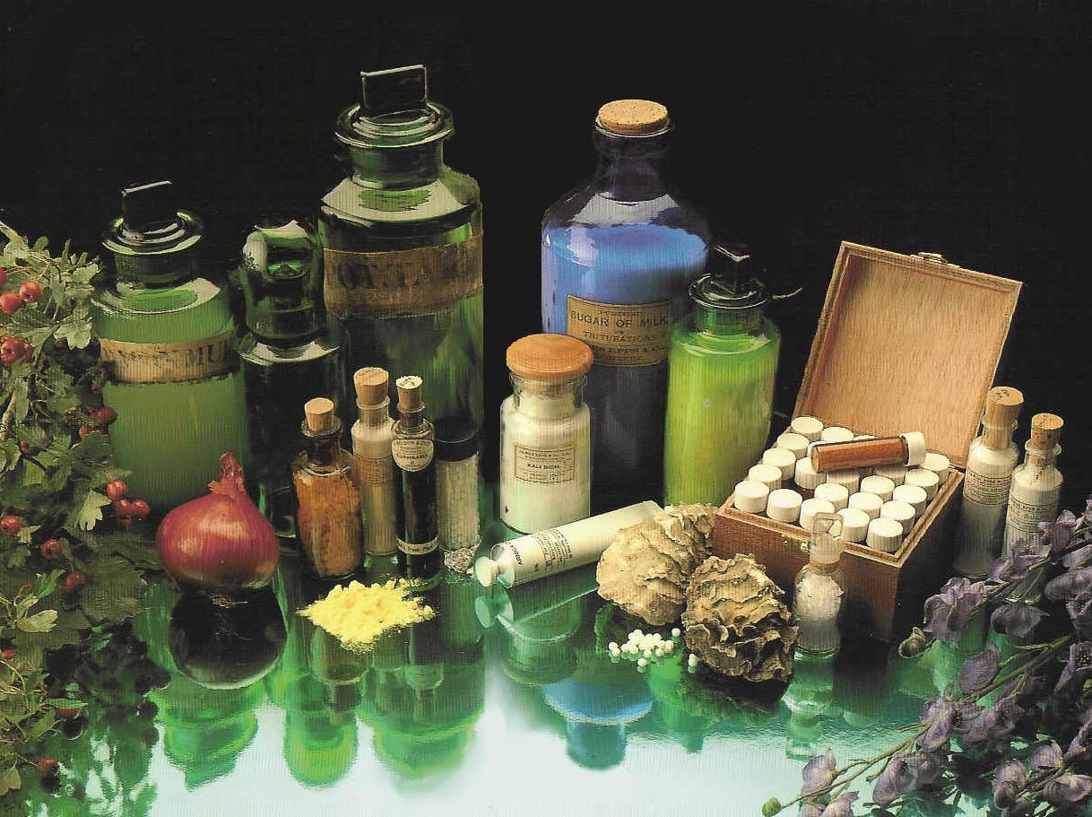 Homöopathie natürlich heilen