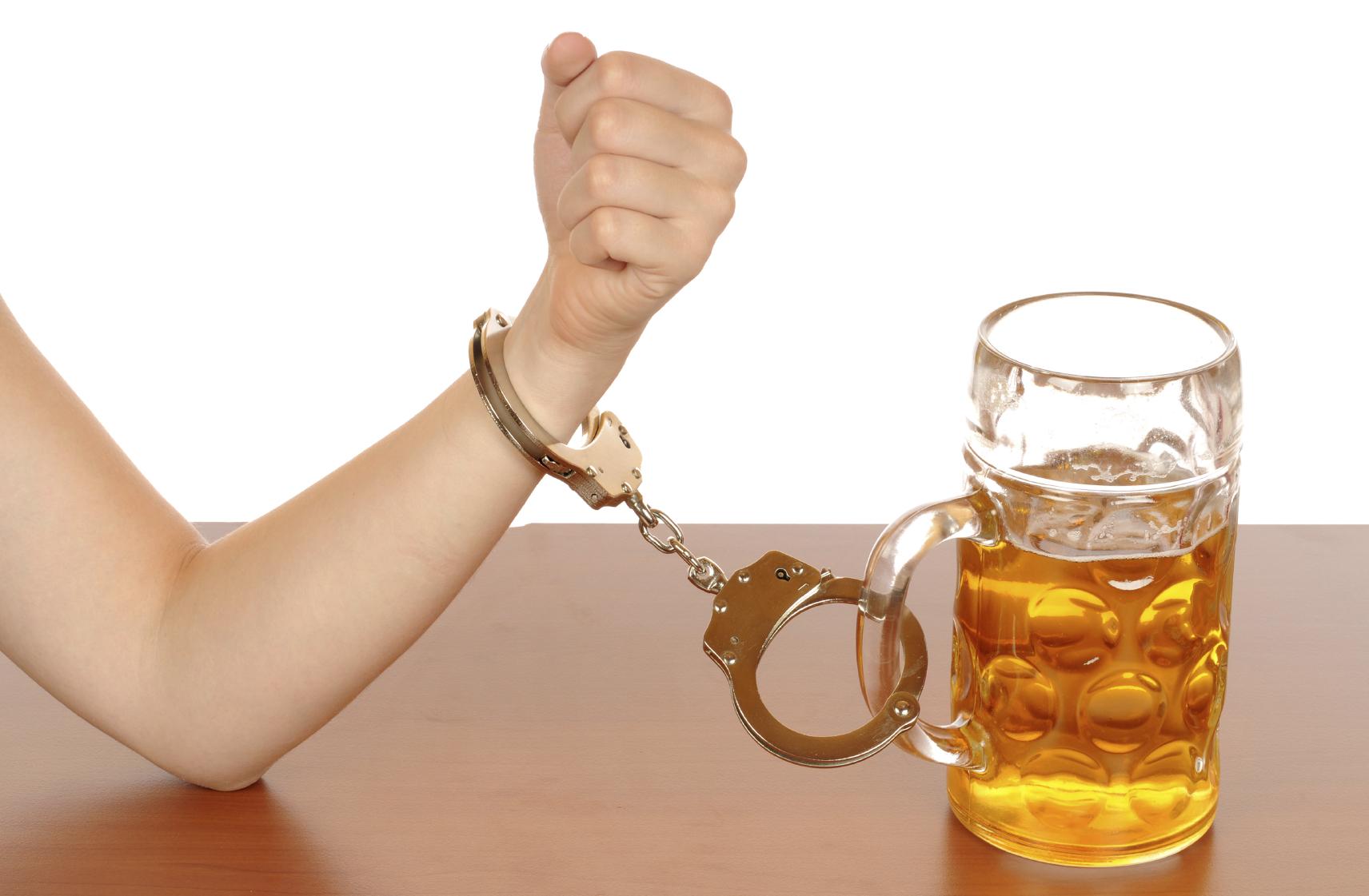Wenn Alkohol zur Sucht wird
