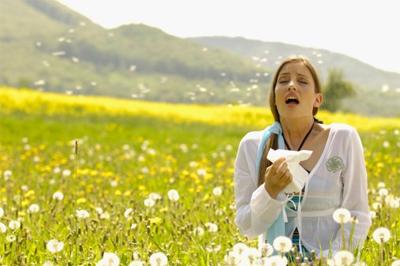 Gegenwärtige Probleme mit den Allergien