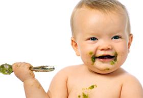Richtige Babynahrung