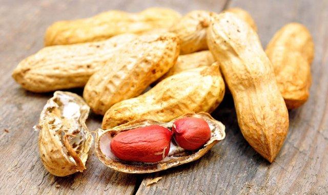 Allergie gegen Erdnüsse