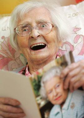 Anti-Aging-Tipps von superalten Menschen = Supercentenariern