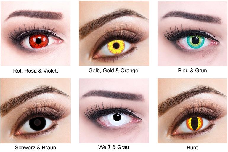Farbig oder klassisch: Kontaktlinsen bei Lensbest.de