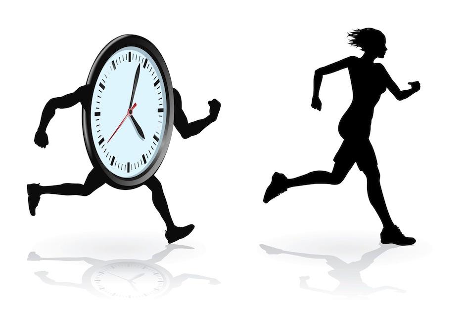 Keine Zeit, keine Zeit…