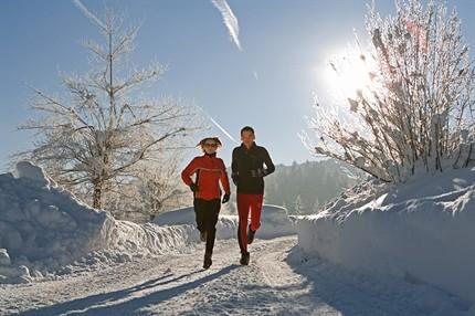 Laufen in der Arktis, ist das Gesund?