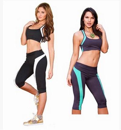 Sportbekleidung als Blickfang