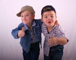 Trendige Kinderkleidung zum Selbstgestalten