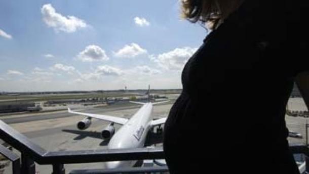 Fliegen während der Schwangerschaft