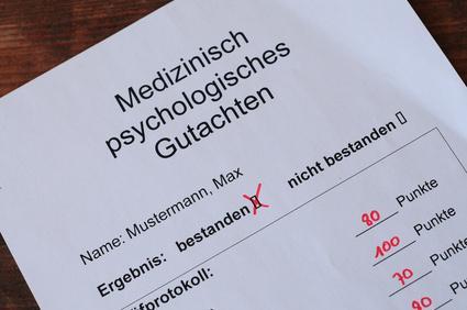 MPU Medizinisch-Psychologische Untersuchung