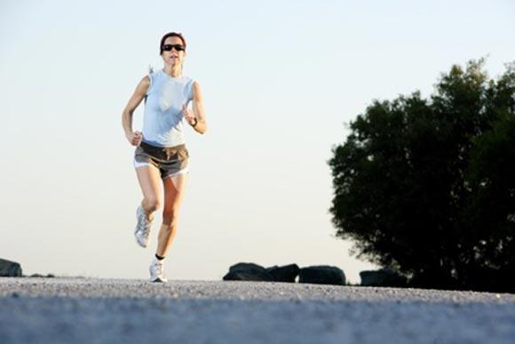 Sport hält den Körper fit und gesund