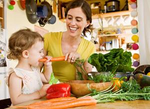 Vegetarisch durch der Schwangerschaft?